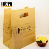 As bolsas de papel luxuosas feitas sob encomenda do saco do presente da compra com logotipo imprimem por atacado