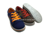 子供(J2623-B)のための標準的なブランク偶然のズック靴