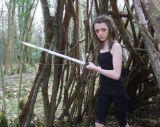 Zwaard van de Naald van Arya van de replica het Grimmige