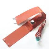 De dunne Flexibele RubberVerwarmer van het Silicone van 220 Volt met het Controlemechanisme van de Temperatuur