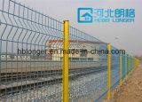 Clôture en maille métallique en fer galvanisée revêtue de PVC de haute qualité