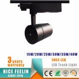 proyector de la pista Light/LED de la MAZORCA LED del CREE 30W para la iluminación de los departamentos