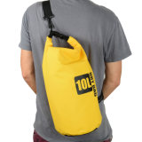 Duffle impermeável do saco seco com o saco seco do curso do PVC da cinta de ombro