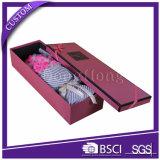 Regalo flor de papel rectangular hecha a mano de lujo caja de empaquetado