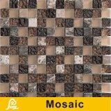 mosaico di cristallo della miscela di marmo di 8mm per la serie della miscela del marmo della decorazione della parete (miscela di marmo 06/07/08/09)