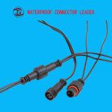 品質の保証コネクターが付いている防水小型3つのPinの平らな電気プラグ