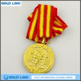 カスタム金属メダル金の円形浮彫りの硬貨は記念品を制作する