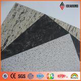 [هيغقوليتي] حجارة نظرة ألومنيوم مركّب لوح لأنّ جدار [كلدّينغ] ([أ-509])