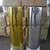 Gold Silver Hot Stamping Foil pour papier plastique