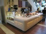 Prefabricada Italian Cafe Bar Muebles Decoración Cafe comercial contador
