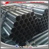 Precio revestido del tubo de acero del soldado enrollado en el ejército del cinc de ASTM A53 300G/M2