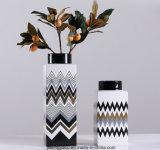 Vaso di fiore di ceramica dissipante colorato per la decorazione domestica
