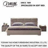 Base do sofá do projeto moderno com tampa de couro para a mobília G7003 do quarto