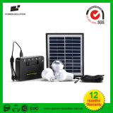 Мобильный телефон Chargeur Et 4W Panneau Solaire+Trois 1W СИД Ampoule+5200Li-ion Batterie USB Solaire Puissante Avec светильника