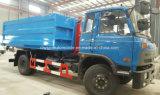 Les ordures Trcuk de bras de crochet de Dongfeng 4X2 10t 10 tonnes de bras tombent le camion
