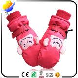 昇進のギフトの手袋の中のビロードが付いている柔らかく、美しい防水子供の綿皮手袋毛織の手袋および