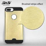 Shs는 효력 금속 iPhone 7을%s 물자 열 분산 잡종 셀룰라 전화 상자를 솔질했다