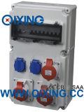 Rectángulo impermeable eléctrico caliente del socket de la combinación de la ECO Favorlable