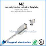 Магнитный кабель USB обязанности молнии данным по USB Micro на iPhone 5 6s I104