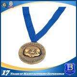 медаль 3D с обыкновенным толком талрепом (Ele-medal_R037)