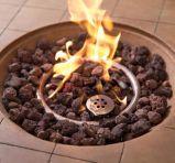 42 بوصة مستديرة بروبان [غس فير] حفرة طاولة