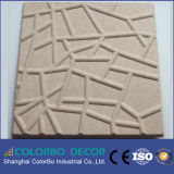 Painéis do interior da fibra de poliéster 3D do material acústico