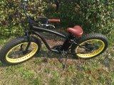750With500W riesiges Hochgeschwindigkeitsc$e-fahrrad, 26 '' Scheibenbremse-Gebirgselektrisches Fahrrad des Zoll-*4.0 fetter des Reifen-F/R