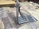 Suporte de prateleira decorativo do cromo do metal do OEM de China para as prateleiras de madeira