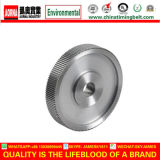 La puleggia cronometrante materiale d'acciaio con annerisce il trattamento