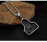 Tamanho dos acessórios de forma 2 do aço inoxidável do pendente 316L da colar da morte