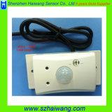 interruptor leve fixado na parede energy-saving Hw-8090 de corpo 24V humano