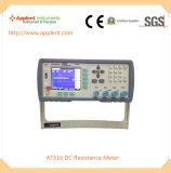 Тестер сопротивления DC для сопротивления металла Riveting и сопротивления DC низкого (AT516)