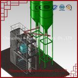 良質コンテナに詰められた特別な乾燥した乳鉢の生産機械