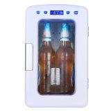 Type neuf mini refroidisseur 10liter DC12V, AC100-240V avec la fonction de refroidissement et de chauffage