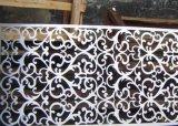 レーザーの切断のCortenの鋼板が付いている金属のデザイン