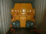 Concrete Mixer van de Schacht van Sicoma van Mso1000 de Mini Tweeling
