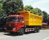 Dongfeng 6X4 무거운 수용량은 팔 25 톤 쓰레기 트럭을 복사한다