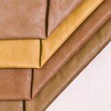 2016の柔らかい耐久財PU PVC家具の革ハンドバッグの革靴の革