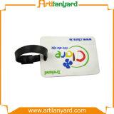 Tag personalizado da bagagem do PVC da promoção