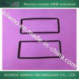 Garniture rectangulaire faite sur commande d'adhésif en caoutchouc de silicones