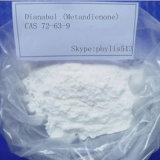 Pérdida de peso blanca de Methandrostenolone del polvo Dianabol esteroide D-Bol CAS 72-63-9