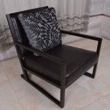 Présidence d'accent de cuir d'entrée de meubles d'hôtel de modèle neuf