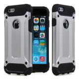 Armure lourde hybride de couverture avec le cas duel de couche pour l'iPhone 6plus