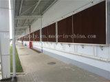 Mur de refroidissement de garniture de refroidissement par évaporation de l'eau de fournisseur de la Chine avec le bâti