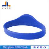 Wristband a circuito chiuso personalizzato del silicone della cinghia di manopola di colore RFID