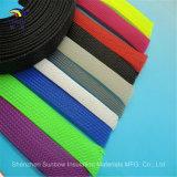 Großverkauf RoHS UL-Polyester (HAUSTIER) flocht expandierbare Kabel-Ineinander greifen-Gefäß-Hülse, Plastikkabelmuffe, flexible Briad Hülse