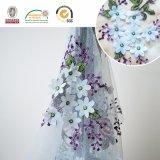 Laço de Polyster da flor de Purple&Blue, o projeto o mais novo e Sell quente para o vestido C10019 das mulheres