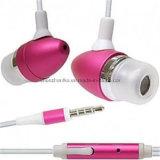 Metallo stereo collegato sport di promozione Handsfree in trasduttore auricolare dell'orecchio con il Mic