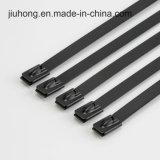 UL de zwarte Band van de Kabel van het Roestvrij staal T50L