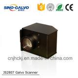 Galvo análogo do varredor de laser Js2807 do sino Galvo para a máquina de estaca do laser